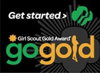 Register online to start your Gold Award Project